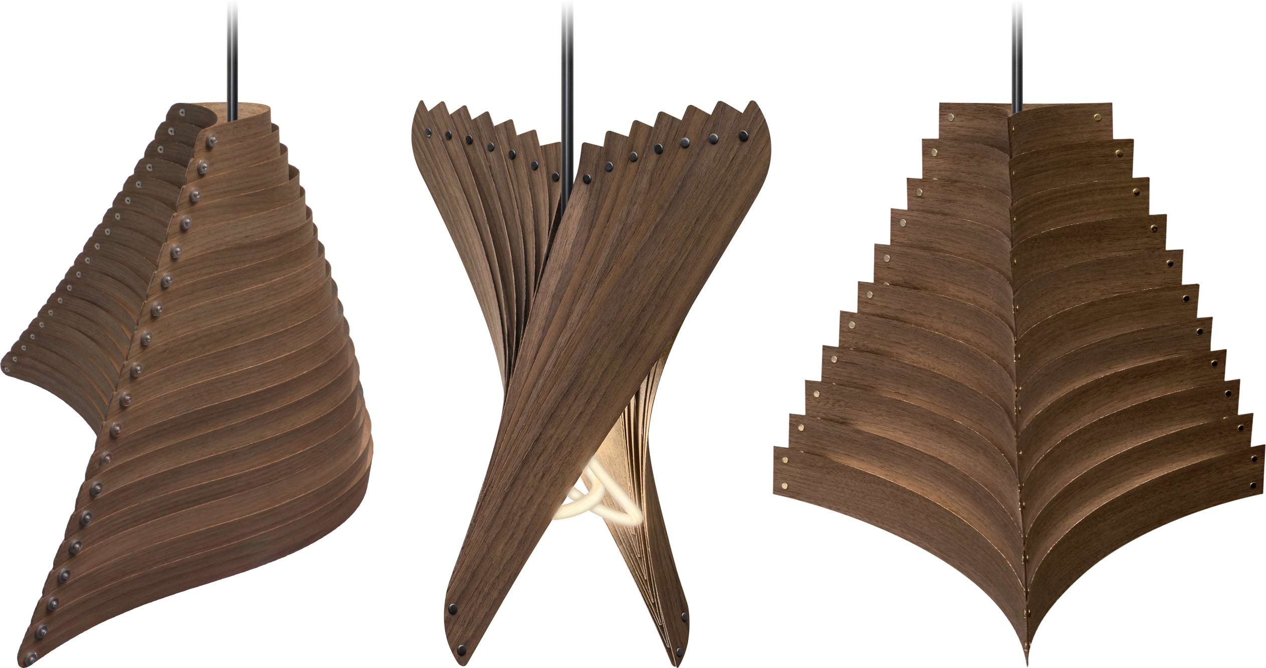Walnut Lamps Series